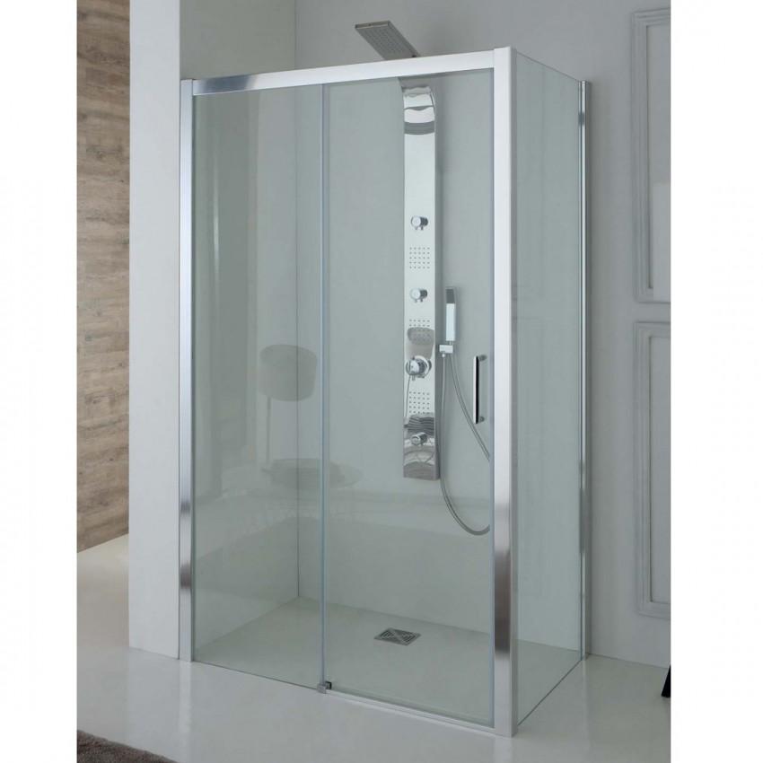 Box doccia angolare con porta scorrevole TPSC55 Colacril