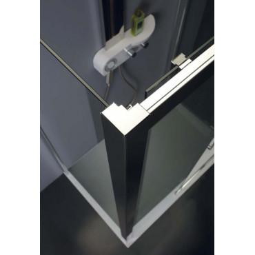 Cabine de douche d'angle à portes coulissantes TPSC55 Colacril