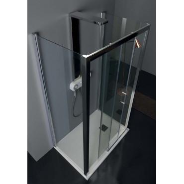 Cabine de douche murale centrale à portes coulissantes TPSC55 Colacril