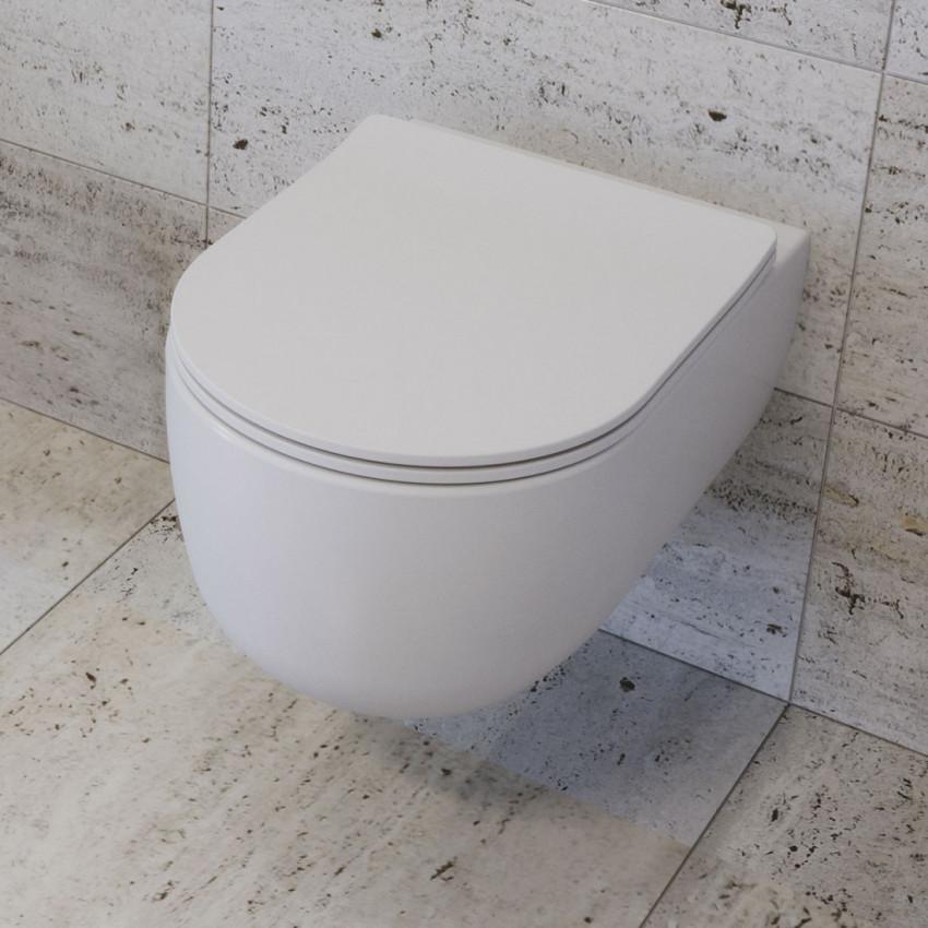 toilet without rim Milady Olympia Ceramica