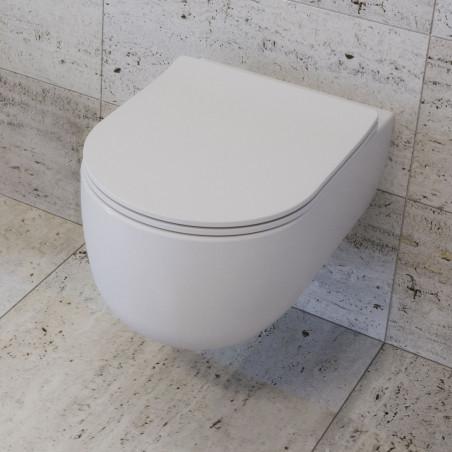 toilette sans rebord Milady Olympia Ceramica