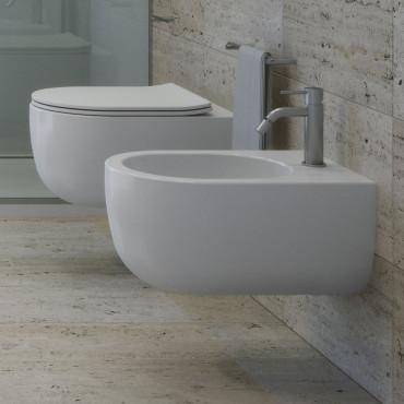 Milady Olympia ceramic rimless sanitary ware