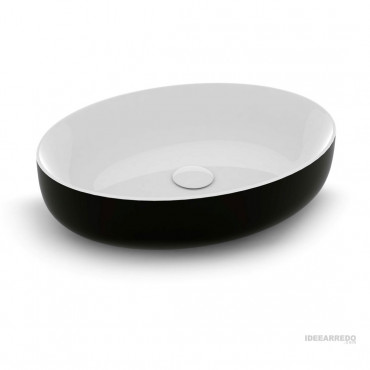 Olympia ceramica colored bathroom sink