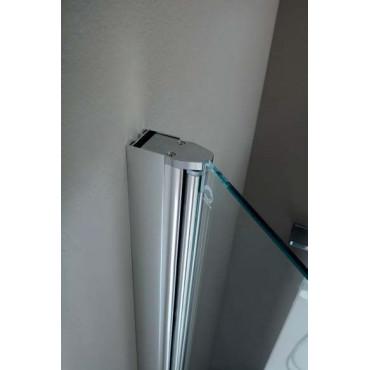 Profil adaptateur 30 mm NTPA01 pour cabines de douche en Colacril