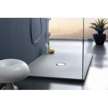 Rectangular shower tray in acrylic 70 H3 Colacril