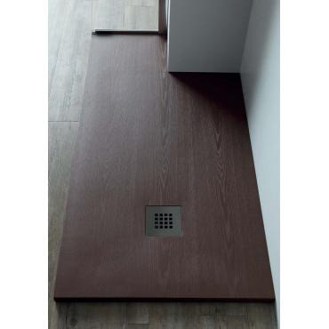 Piatto doccia effetto legno in resina Essence Colacril