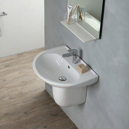 precios lavabos suspendidos Olympia ceramica