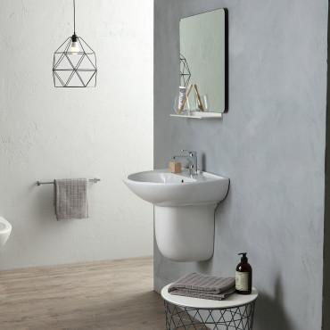 Semicolonna per lavabo Rubino Olympia Ceramica