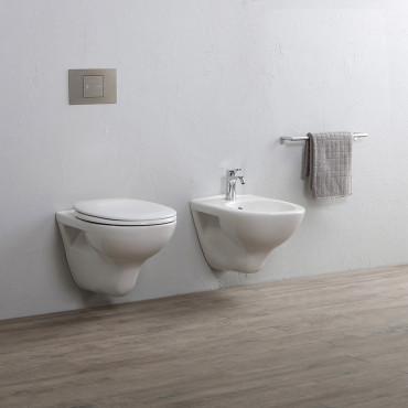 Cheap suspended sanitary ware Rubino Olympia Ceramica wall hung sanitary ware