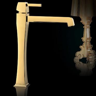 rubinetto oro bagno Gaboli Flli rubinetteria Charlotte