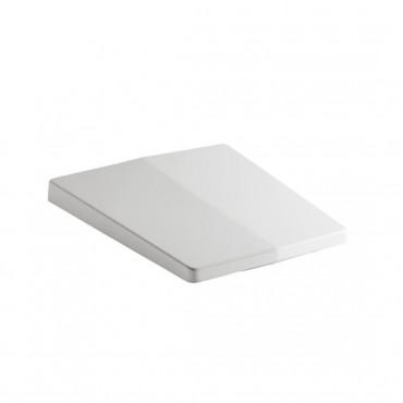 tapa de inodoro rectangular Crystal Olympia Ceramica