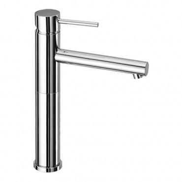 Miscelatore lavabo con prolunga e bocca lunga senza scarico Simply 2687