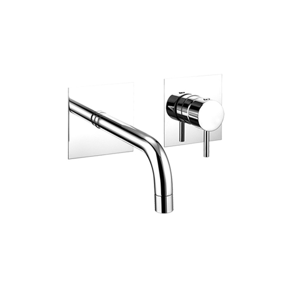Miscelatore A Muro Per Lavabo miscelatore a muro per lavabo simply 2670 gaboli flli
