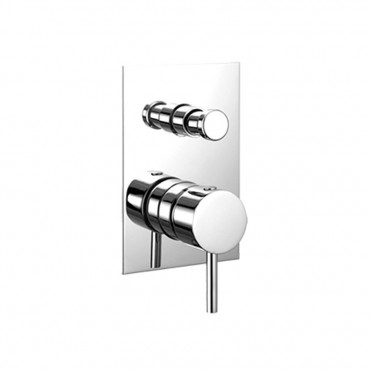 Simply 2630 shower mixer with diverter