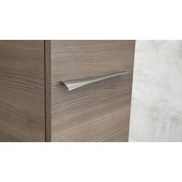 Colonne de salle de bain suspendue moderne en couleur blanc ou bois BMT Blues