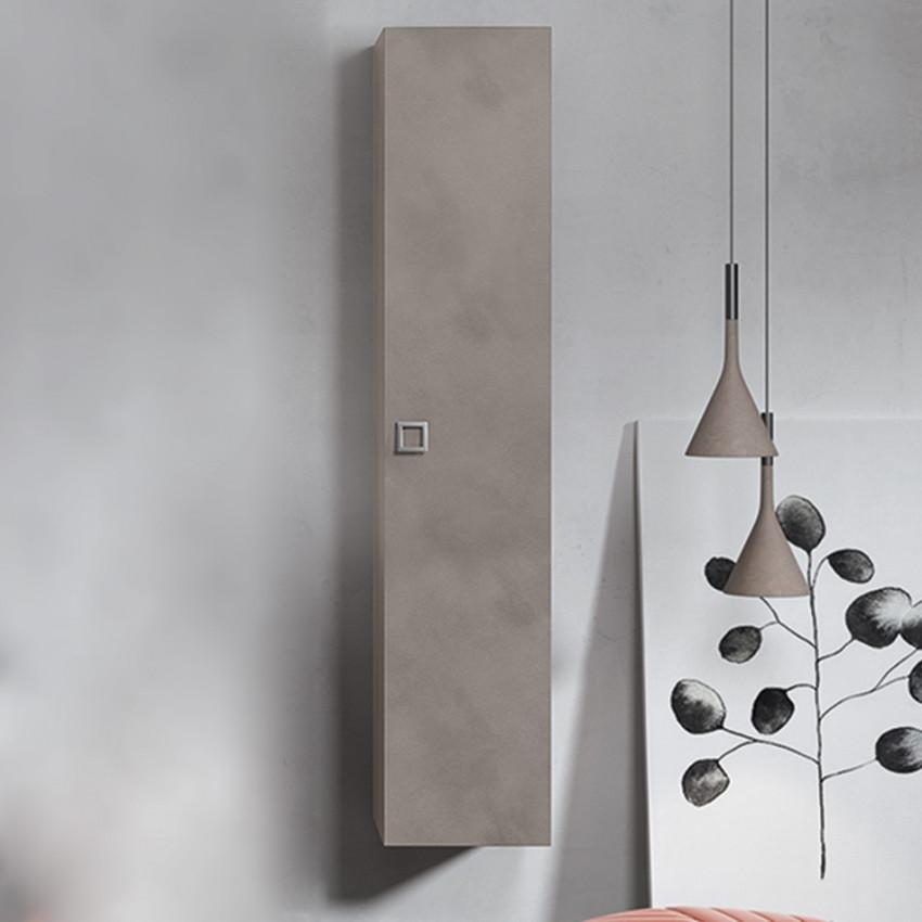 Colonne de salle de bain grise design moderne BMT Jupiter
