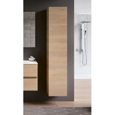 Mobile colonna bagno sospesa color legno pino naturale BMT