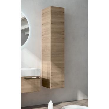Armoire suspendue en bois de pin naturel BMT