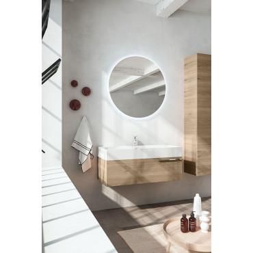 Mobile bagno moderno sospeso 60 cm 80 cm 100 cm BMT Mercury 07