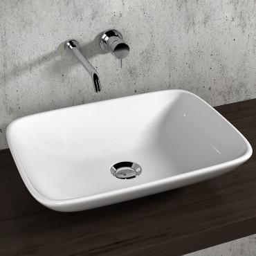 Vasques à poser rectangulaires Olympia Ceramica