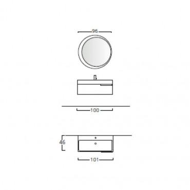 fiche technique meuble de salle de bain en ligne Mercury