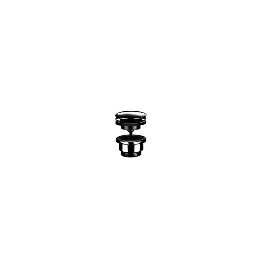 Drain de bassin noir universel Click-Clack Gaboli Flli Rubinetteria