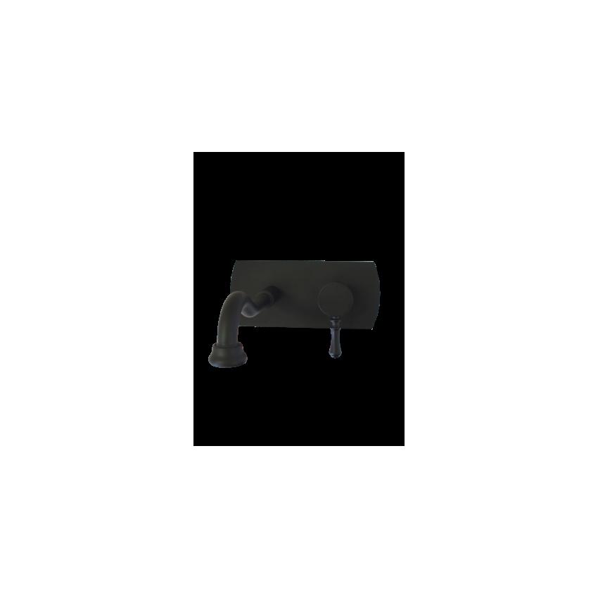 Mélangeur noir Gaboli Fratelli Rubinetteria