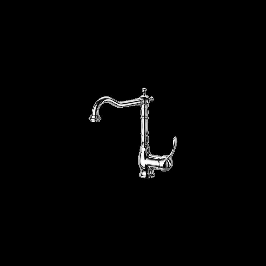 rubinetto cucina ottone anticato Gaboli Flli