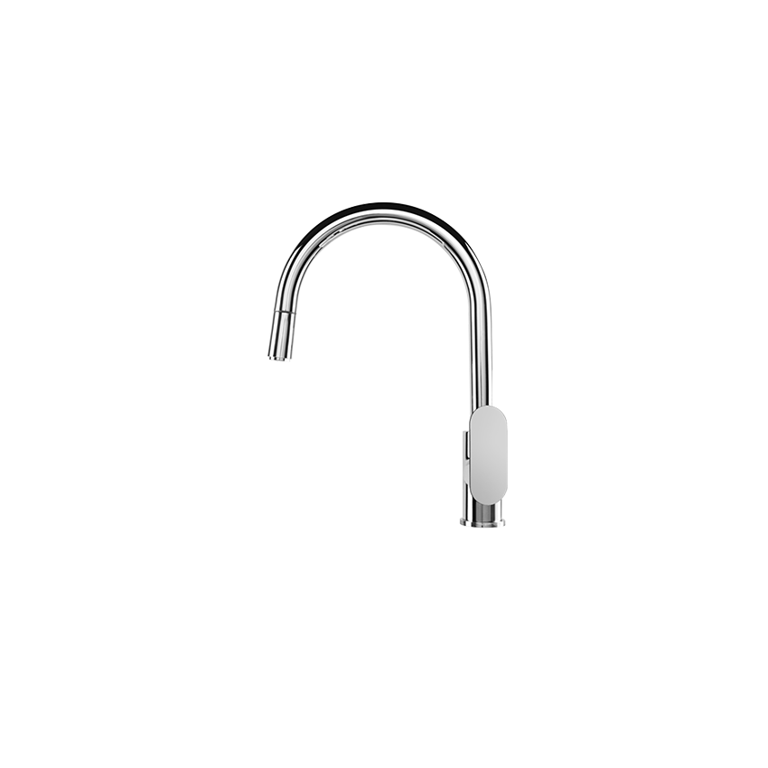 Robinet de cuisine avec douchette amovible Gaboli Flli robinets