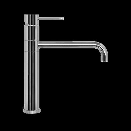 rubinetto cucina acciaio inox Gaboli Flli