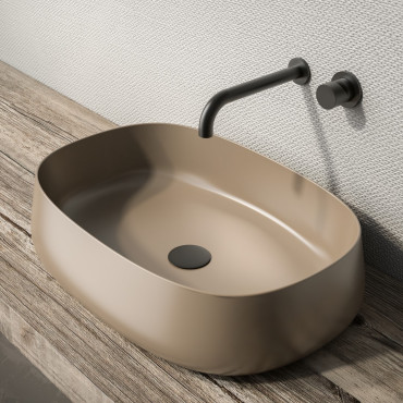 Lavabo de salle de bain couleur Olympia Ceramica