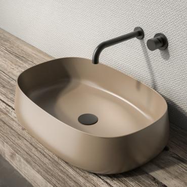 Lavabo de baño de color Olympia Ceramica