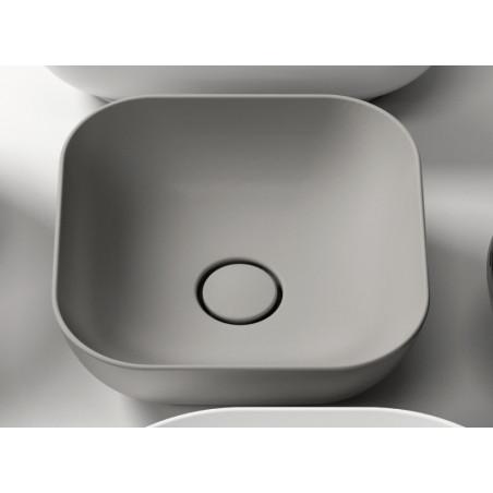 lavabo colorato Olympia ceramica Trend quadrato