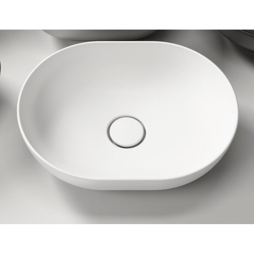 lavabo da appoggio ovale Olympia