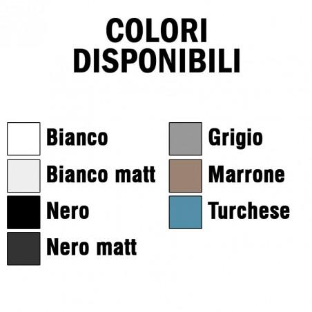 colori lavabo doppio Tratto 100