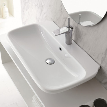 countertop washbasin Olympia ceramica prices