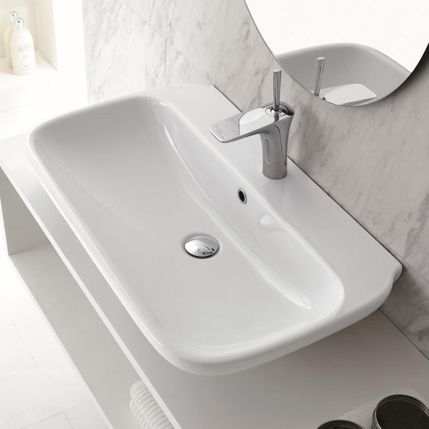 lavabo da appoggio prezzi Olympia ceramica