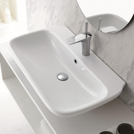 vasque à poser Olympia céramique prix