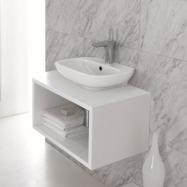 countertop washbasin prices Olympia ceramica Clear