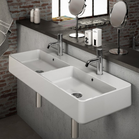 Évier double offre Olympia Ceramica