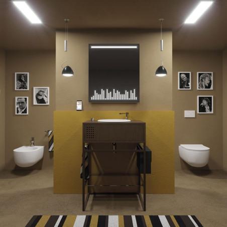 mobile specchio bagno design Vynil Olympia