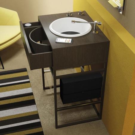 mobile bagno di design con cassetto Vynil Olympia