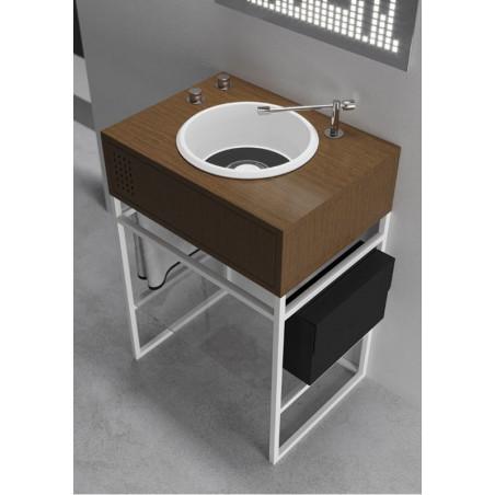 mobile bagno design offerte Vynil - lavabo singolo Olympia