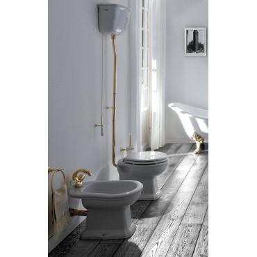 Cisterna exterior alta para inodoro en cerámica Olympia Impero