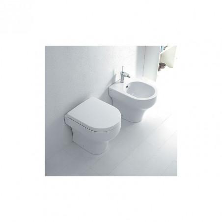 cuvette de toilettes sans rebord au sol Clear Olympia Ceramica