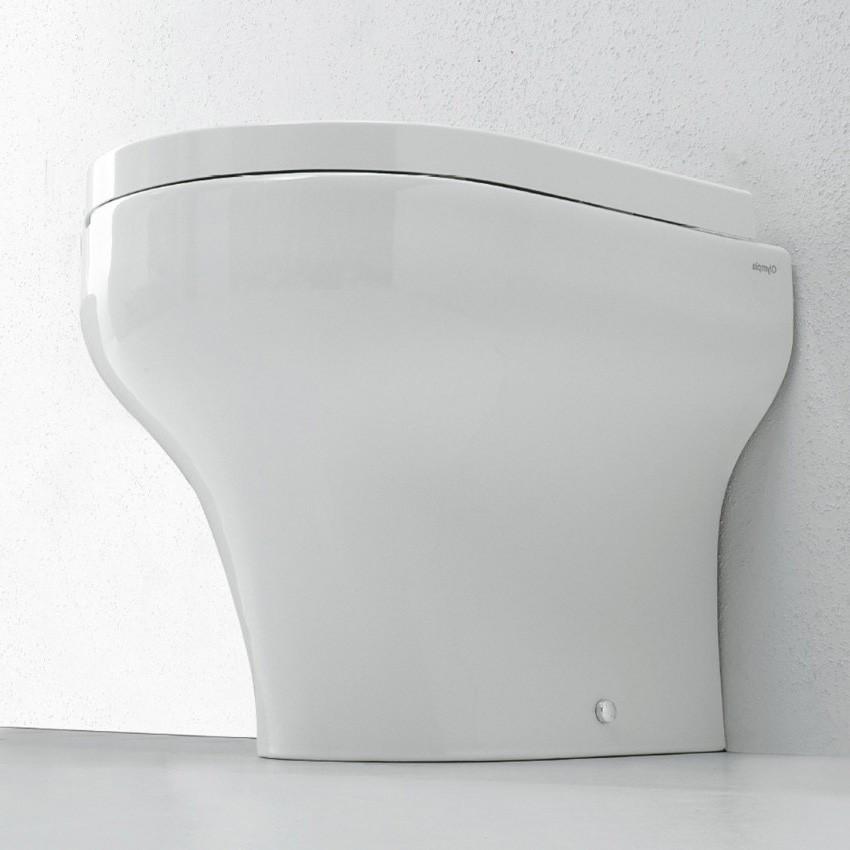 wc a terra senza brida Clear Olympia