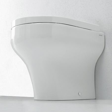 wc a terra senza brida Clear Olympia Ceramica