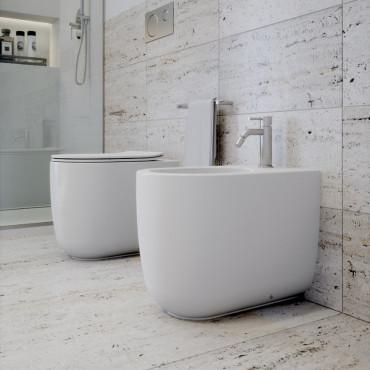 Milady Olympia Ceramica Sanitaires dos à mur sans monture