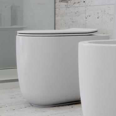 Spülrandlose Toilette Milady Olympia Ceramica