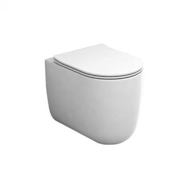 wc senza brida filo muro Milady Olympia Ceramica